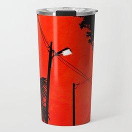 Red Sky 02 Travel Mug