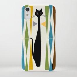 Mid-Century Modern Art Cat 2 iPhone Case