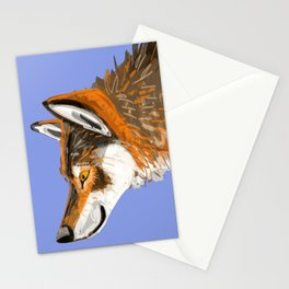 Totem Italian wolf (italicus) Stationery Cards