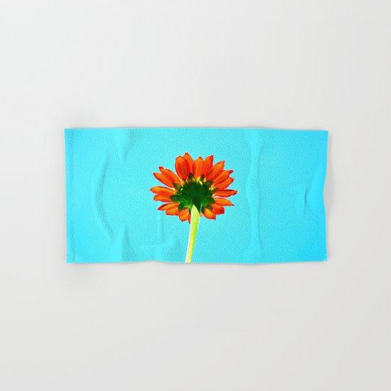 Flower orange 6 Hand & Bath Towel
