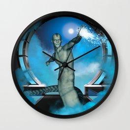 The snake man Wall Clock