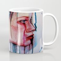 agnes cecile Mugs featuring The Redemption of Agnes McFee (VIDEO IN DESCRIPTION!) by Olga Noes