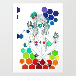 Phantasmagorique Art Print