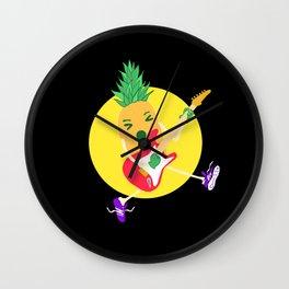 Punk Ananas Wall Clock