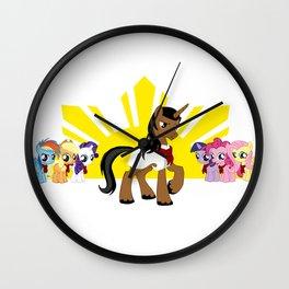 Andres Ponyfacio Wall Clock