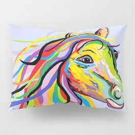 Horse of a Different Color Pillow Sham