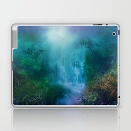 purple forest landscape Laptop & iPad Skin