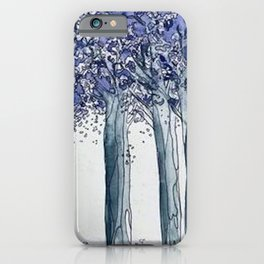 Jacarandas iPhone Case
