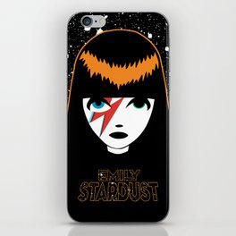 Emily Stardust iPhone Skin