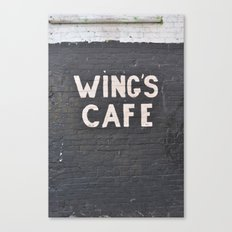 wings cafe Canvas Print