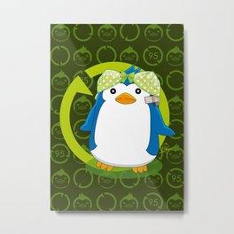 N° 2 Sexy Spy - Mawaru Penguindrum Metal Print