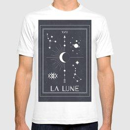 The Moon or La Lune Tarot T-shirt