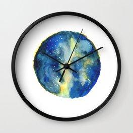 Celestial Dust Wall Clock
