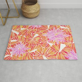 Water Lilies – Melon Palette Rug