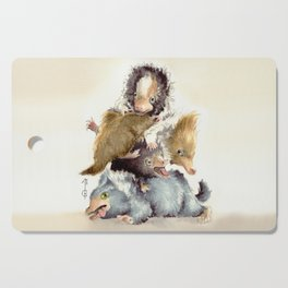 Niffler babies Cutting Board