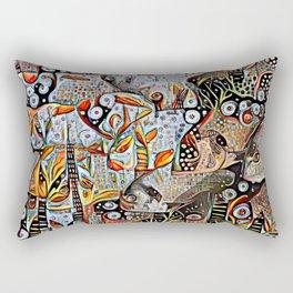 A Fine Kettle of Fish Rectangular Pillow
