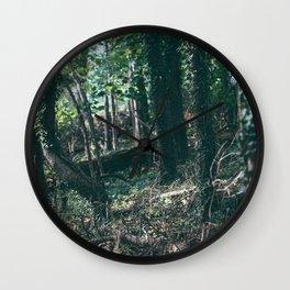 Secret Forest Wall Clock