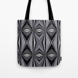 Monochromatic Diamond Tote Bag
