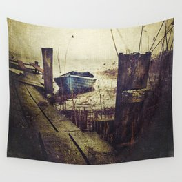 Rugged fisherman Wall Tapestry