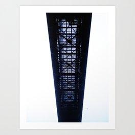 Foggy Lift #3 Art Print