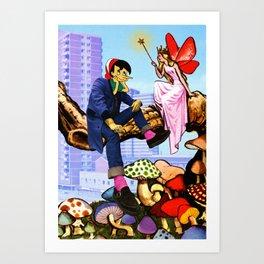 Sirok 'n' Roll Art Print