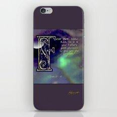 Fear Not Little Flock iPhone & iPod Skin