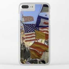 Full Flagged Ship Clear iPhone Case