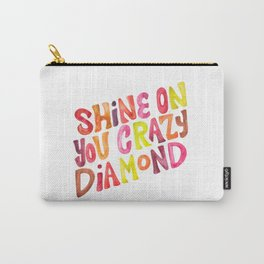 Shine On You Crazy Diamond – Rainbow Palette Carry-All Pouch
