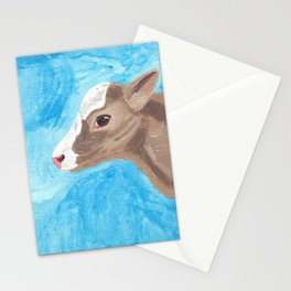 A Heifer Calf Named Keely Stationery Cards