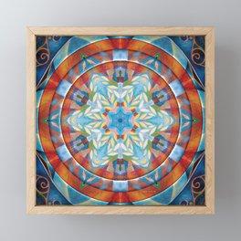 Mandalas of Forgiveness & Release 19 Framed Mini Art Print