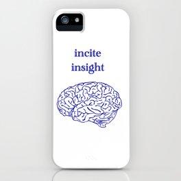 incite insight iPhone Case