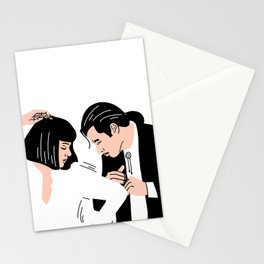 Strange Love: Pulp Fiction Stationery Cards