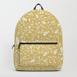 Vintage yellow Backpack