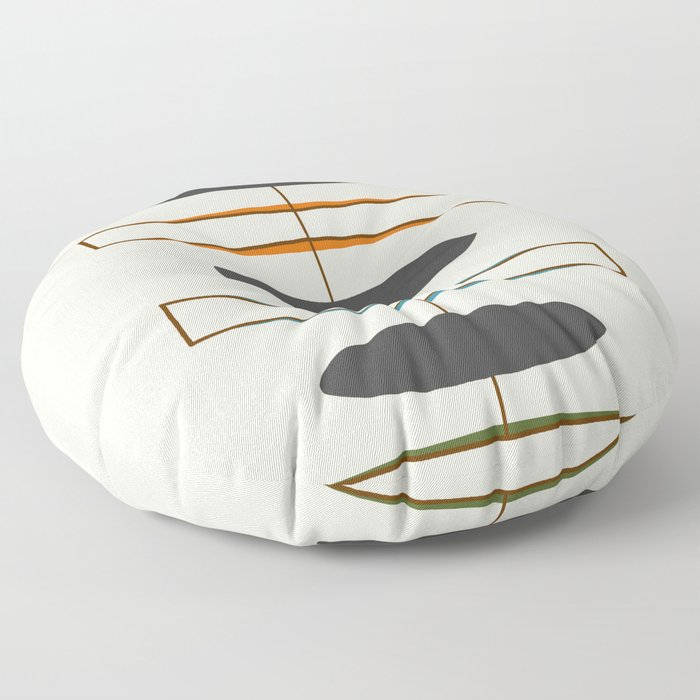 Mid-Century Modern 1.1 Floor Pillow