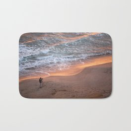 The Sun Rises On The East and Sets On The West Bath Mat