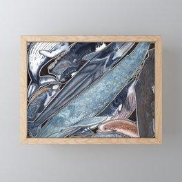 Whales Framed Mini Art Print