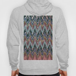 Zigzag line pattern Hoody