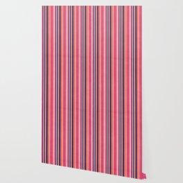 Happy Vertical LInes Pink Version Wallpaper