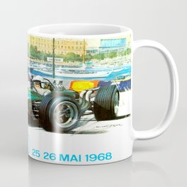 Monaco 1968 Grand Prix Coffee Mug