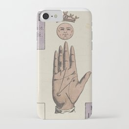 Vintage French Moon Tarot Card iPhone Case