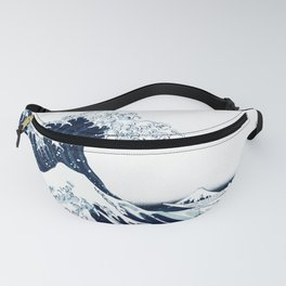 The Great Wave - Halftone Fanny Pack