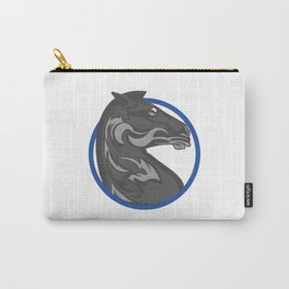 Gray x Horse Carry-All Pouch