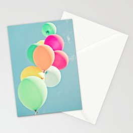 Balloon Mania Stationery Cards