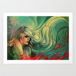 Tepu Art Print