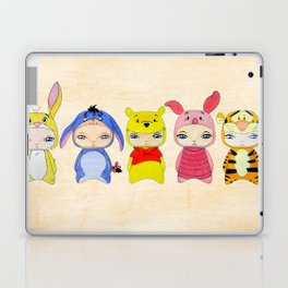A Boy - Winnie and friends Laptop & iPad Skin
