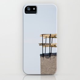 Scaffolding. iPhone Case