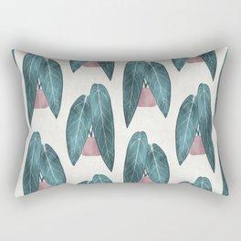 Queen Anthurium (potted) Rectangular Pillow