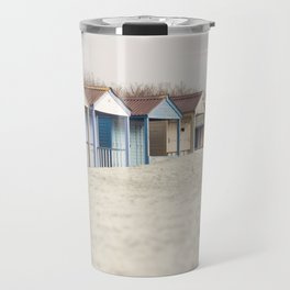 Cabins In The Sand Travel Mug