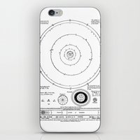 solar system iPhone & iPod Skins featuring Solar System by Public Demesne