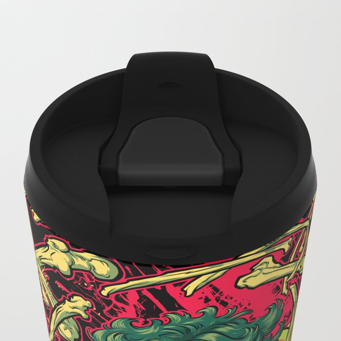 MASSACRE! Metal Travel Mug